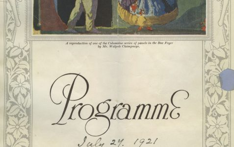 Opening night programme