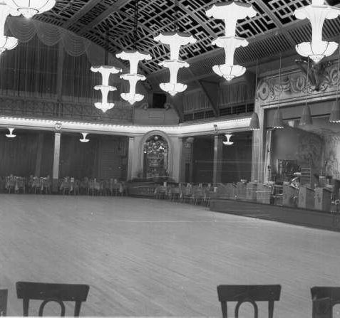 The Regent Ballroom with its specially sprung dance floor | Image reproduced with kind permission of The Royal Pavilion and Museums Brighton and Hove