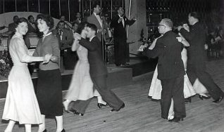Photograph of dancers at the Regent Ballroom | From a private collection