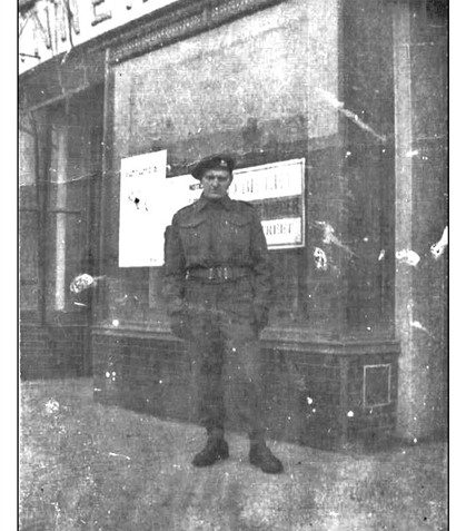 Where was this taken - is it the same soldier?   From the private collection of Rick Smallman