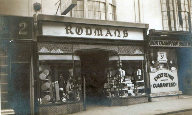 Rodmans Ltd, 3 St. James's Street. | From the private collection of Moira Marsden
