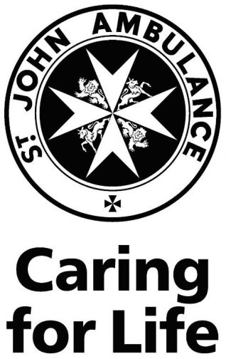St John Ambulance - Caring for Life | Logo supplied by Terry Wing