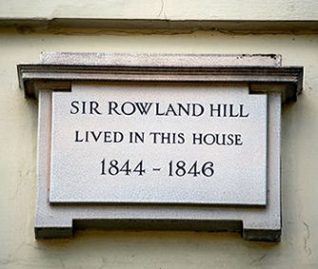 Plaque on 11, Hanover Crescent | Photo by Tony Mould