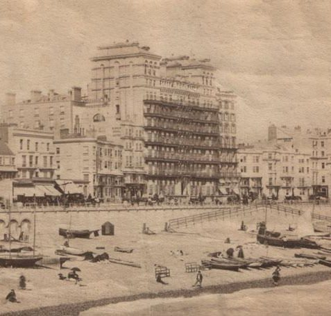 Grand Hotel before the Metropole was built