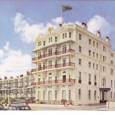 Royal Crescent Hotel | From the private collection of Kenneth Ross