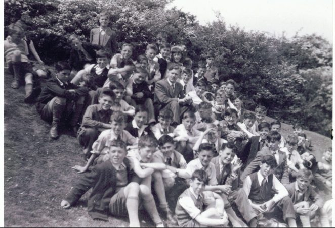 Portslade County School trip | From the private collection of Tony Clevett