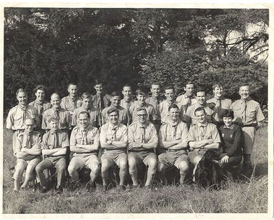 Scout training camp c1964 | From the private collection of Colin Webb