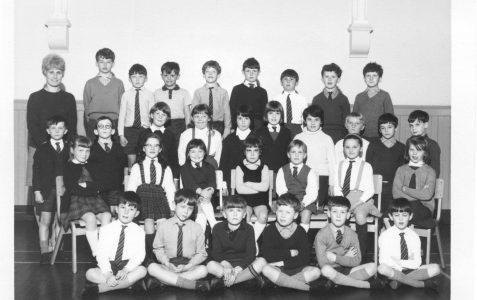 Mrs Batten's class 1968