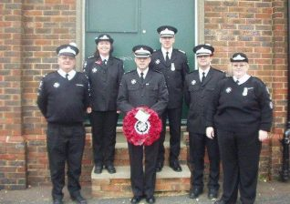 Members of Brighton Division at the 2003 Service of Remembrance | Photo copyright of St John Ambulance