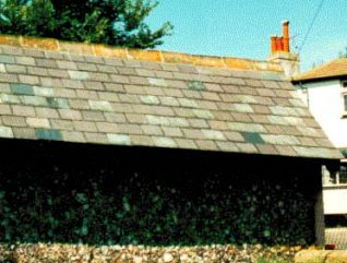 Slate roof tiles | All photographs by Ron Martin
