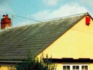 Westmoorland slate roof