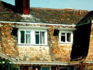 Cornish slate roof