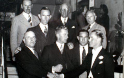 Sussex & Australia Cricket Teams 1938