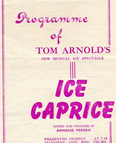 Show programme 1946 | From the private collection of Tony Mould