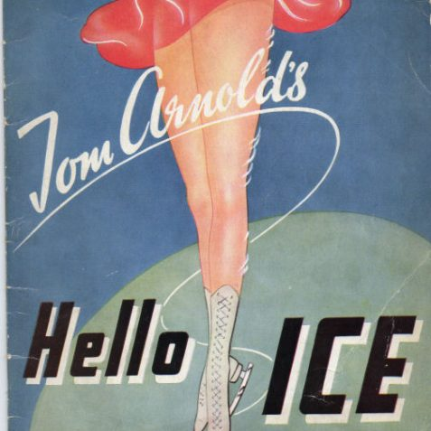 Show programme 1947 | From the private collection of Tony Mould