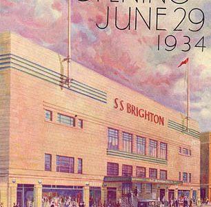 Opening ceremony of the S.S. Brighton
