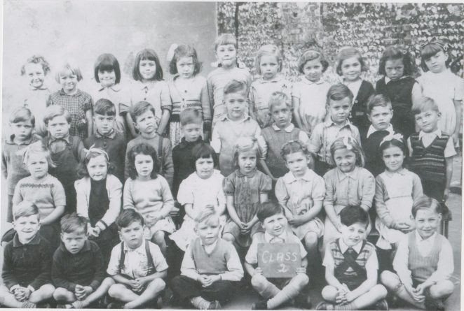 St John's Infants 1949 | From the private collection of Joy Panteli (Smith)