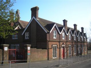 Sacred Heart Convent, Upper Drive Hove, now Newman School   Photo by Peter Groves