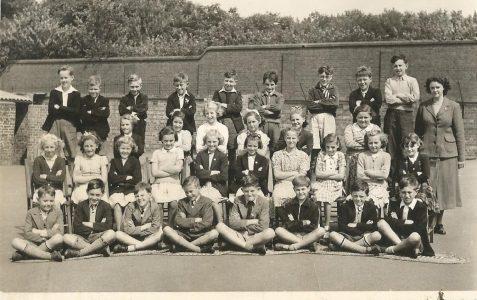 Mrs Green's class c1950s