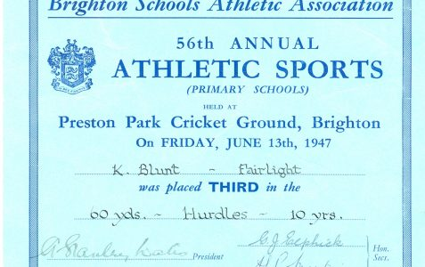 Memories of a student in the 1950s