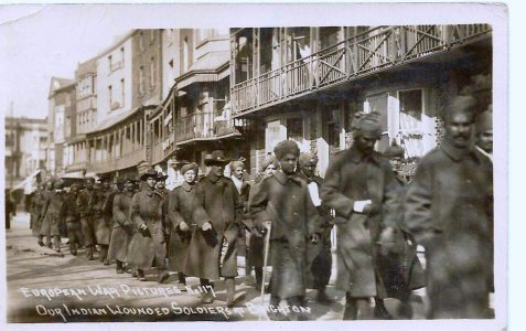 Wounded Indian Soldiers in Brighton