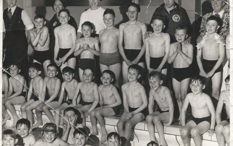Shiverers Swimming Club mid 1950s