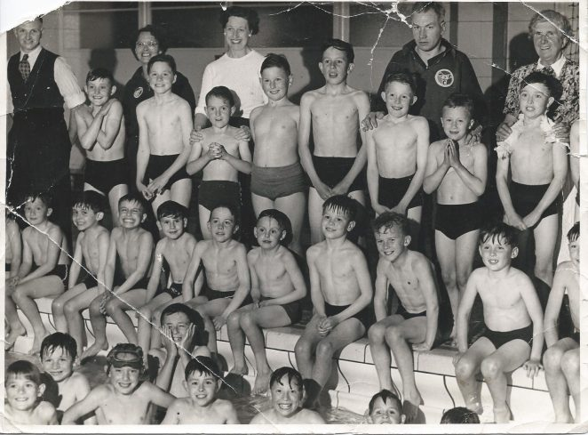 Shiverers Swimming Club Members in the Mid 1950s at The King Alfred Baths Hove. | Sussex Daily News