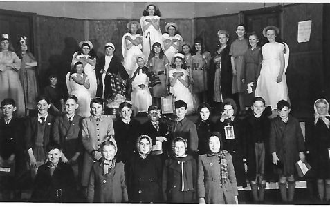 St Nicolas Portslade Nativity Play December 1949
