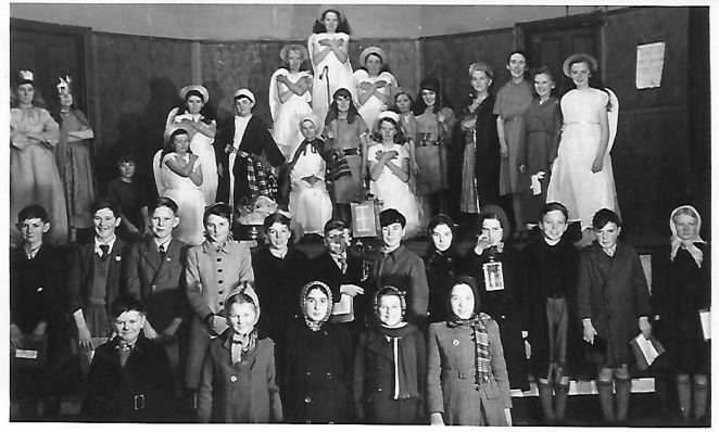 St Nicolas Portslade Nativity Play December 1949 | From the personal collection of Tony Betteridge