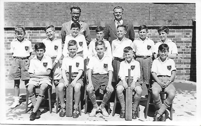 St Nicolas Portslade Cricket Team Summer 1950 | From the private collection of Tony Betteridge