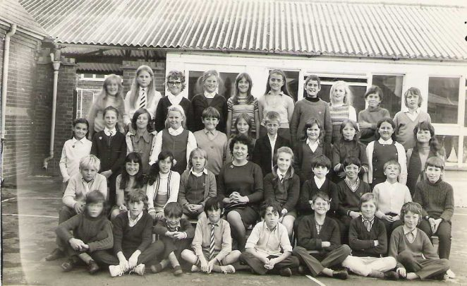St Mark's School: class of 1972 | From the private collection of Jane Gray