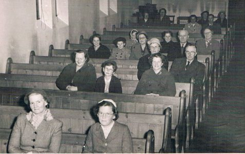 A service in the 1950s