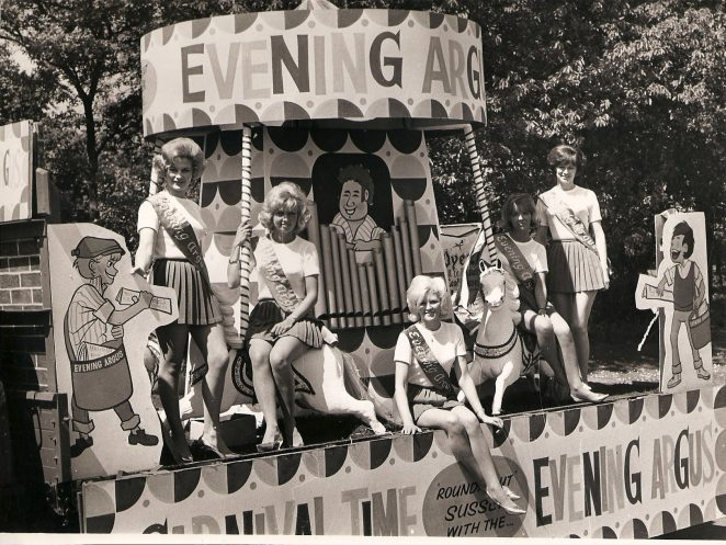 Brighton Carnival 1965 | From the private collection of Mary Reed