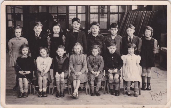 Class photo 1951 -1952 | From the private collection of Rose Tai nee Tucknott