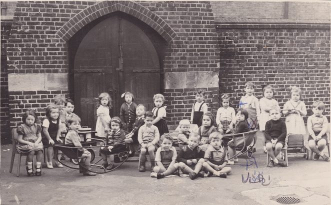 St Paul's Infant School c1951/52 | From the private collection of Rose Tai