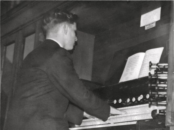 St Luke's church organ | From the private collection of Brian Dungate