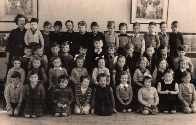 Mrs Haffenden's class c1951/52 | From the private collection of Derek Ost