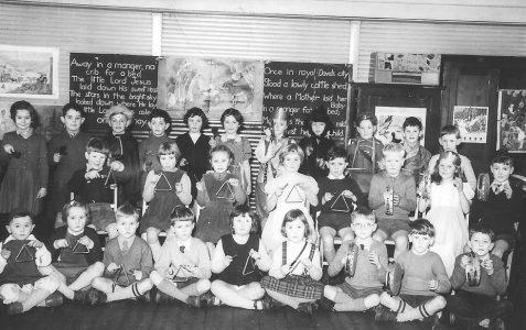 Class photograph c1955/56