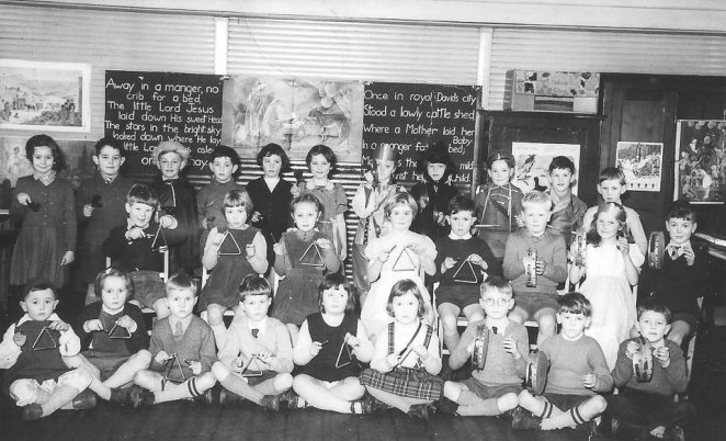 Class photograph c1955/56 | From the private collection of Chris Dawson