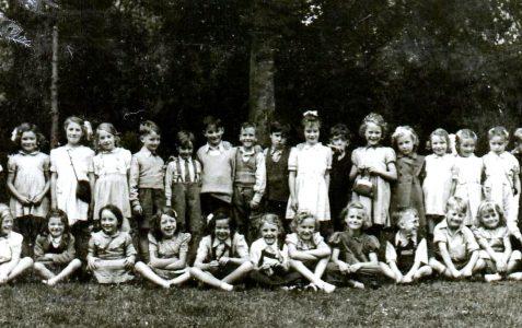 Class photograph circa 1940s