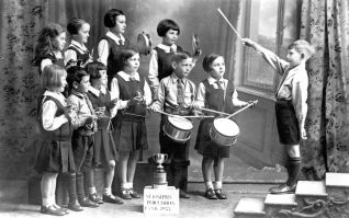 School Percussion Band 1933 | St.Josephs School collection