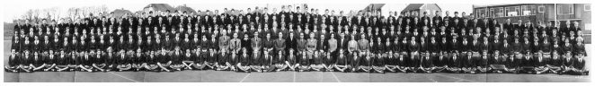 School photo from 1958/59 term