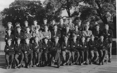 Class photograph c1950/60