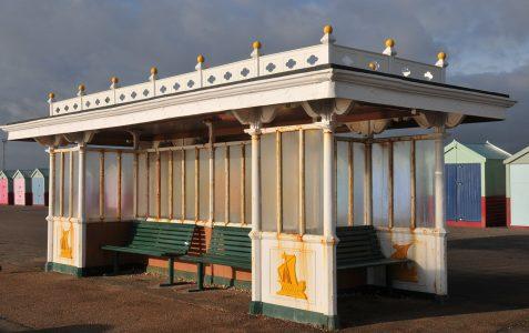 Seafront shelter Western Esplanade: Grade II