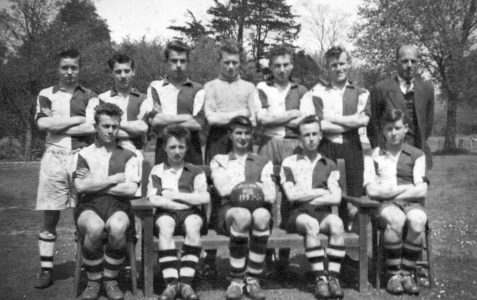 Shoreham Boy's Club Football team 1955