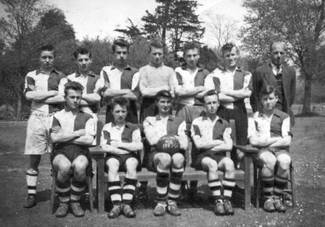 Shoreham Boys Club Football Team 1955 | From the private collection of Keith Upward