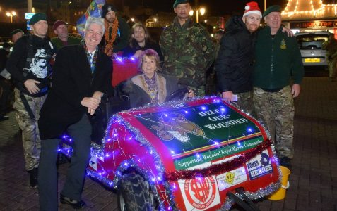 Help our Wounded Sleigh Pull