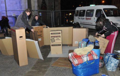 Sleep Easy: raising awareness of homelessness