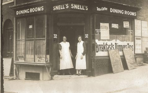 Snell's Dining Rooms in the 1920s