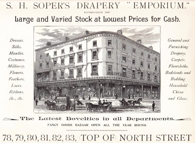 Soper's, late 1800's   From the private collection of Rev. Anthony Martlew